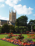 Suffolk Cathedral Gardens Royalty Free Stock Photos
