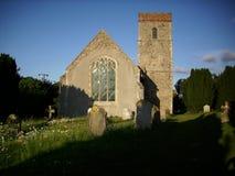 Church and churchyard Stock Photo