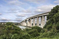 Suffolk da ponte de Orwell Foto de Stock