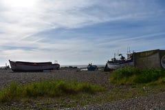 Suffolk da praia de Aldeburgh Fotografia de Stock