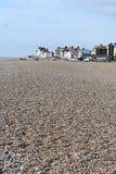Suffolk da praia de Aldeburgh Fotografia de Stock Royalty Free