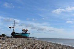 Suffolk da praia de Aldeburgh Foto de Stock