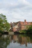 Suffolk del molino de Flatford Imágenes de archivo libres de regalías