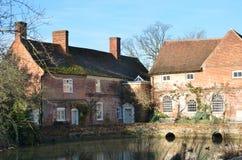 Suffolk del molino de Flatford Imagenes de archivo