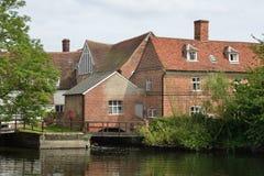 Suffolk do moinho de Flatford Fotos de Stock Royalty Free