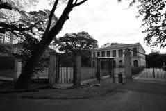 Suffolk-Haus Penang stockfotos