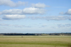 Suffolk landscape. A view of Newmarket racecourse in Suffolk, UK Stock Photos