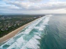 Suffolk Park beach ocean coastline. Stock Photo