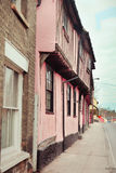 Suffolk town houses Royalty Free Stock Image