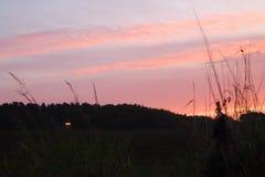Suffolksonnenaufgang lizenzfreie stockfotografie