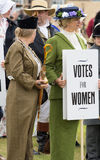 Suffragettes - Votes for women Stock Image