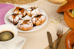 Sufganiyot for holidays Royalty Free Stock Photos