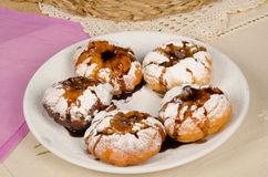 Sufganiyot for holidays Royalty Free Stock Photo