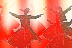 Sufi dance Royalty Free Stock Images