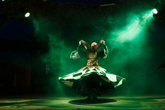A Sufi dancer Royalty Free Stock Photography