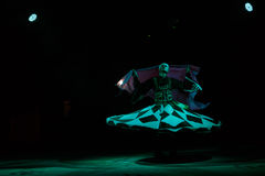 Sufi dancer spins Stock Photography