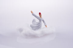 Sufi DerviÅŸ на облаке Стоковое Изображение RF