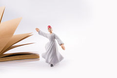 Sufi Dervish on a notebook Stock Photo