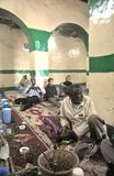 In the Sufi mosque in Hargeisa. Royalty Free Stock Image