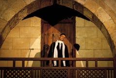 SUFI WERVELENDE DERWISJ, KAÏRO, EGYPTE Royalty-vrije Stock Foto
