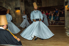 Sufi whirling dervish Royalty Free Stock Image