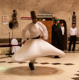 Sufi whirling dervish Stock Images