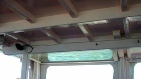 Sufit łódź z szklaną otwartą wdową, zbiory wideo