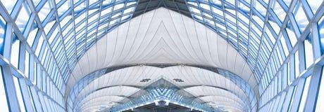 sufit budynku szara panorama biurowych Obraz Stock