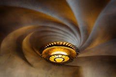 Sufit Casa Batllo, Barcelona Zdjęcie Royalty Free
