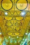 Sufit w Oo Ponya goleni pagodzie Wkrótce, Sagaing fotografia royalty free