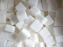 Sugar. Cubes stock photography