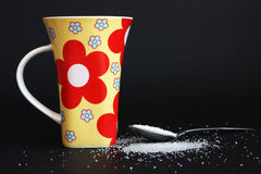 Sugar. Background possible to use for printing and project Royalty Free Stock Image