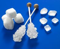 Sugar. Still life of white sugar Royalty Free Stock Photo