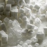 Sugar. Still life of white sugar Stock Image