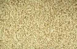 Sugar. A close - up of brown sugar royalty free stock photo