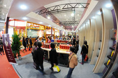Sugar and alcoholic commodities trade fair 2012 Stock Photography