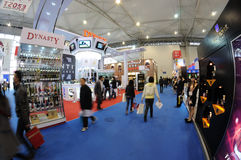 Sugar and alcoholic commodities trade fair 2012 Royalty Free Stock Photography