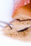Sugar And Spoon Royalty Free Stock Photo