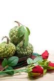 Sugar Apple (corossol, Annona, pomme cannelle) images libres de droits