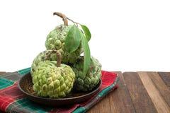 Sugar Apple (corossol, Annona, pomme cannelle) photos libres de droits