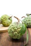 Sugar Apple (corossol, Annona, pomme cannelle) photo stock