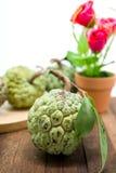 Sugar Apple (corossol, Annona, pomme cannelle) photo libre de droits