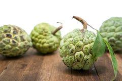 Sugar Apple (corossol, Annona, pomme cannelle) image stock