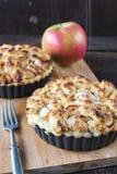 Sugar on apple pie Stock Photography