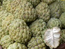 Sugar apple tropical Thai fruit Royalty Free Stock Photos