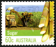 Sugar Australian Postage Stamp Fotos de Stock Royalty Free