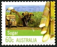Sugar Australian Postage Stamp Royalty-vrije Stock Foto's