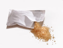 Sugar bag. Royalty Free Stock Photos