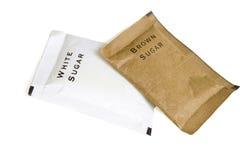 Sugar bags Stock Image