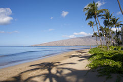 Sugar Beach Maui Royalty Free Stock Photo